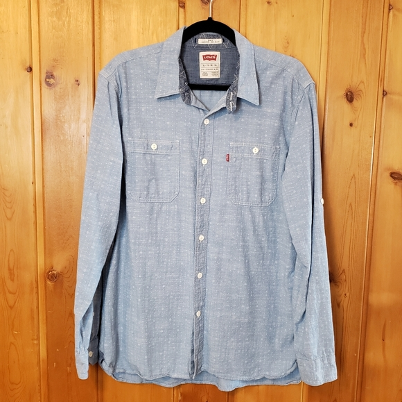 Levi's Other - Levi's Slim Fit Chambray Button Down Shirt